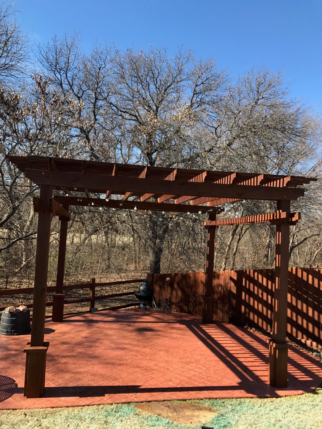 Combo Fence and Pergola Project