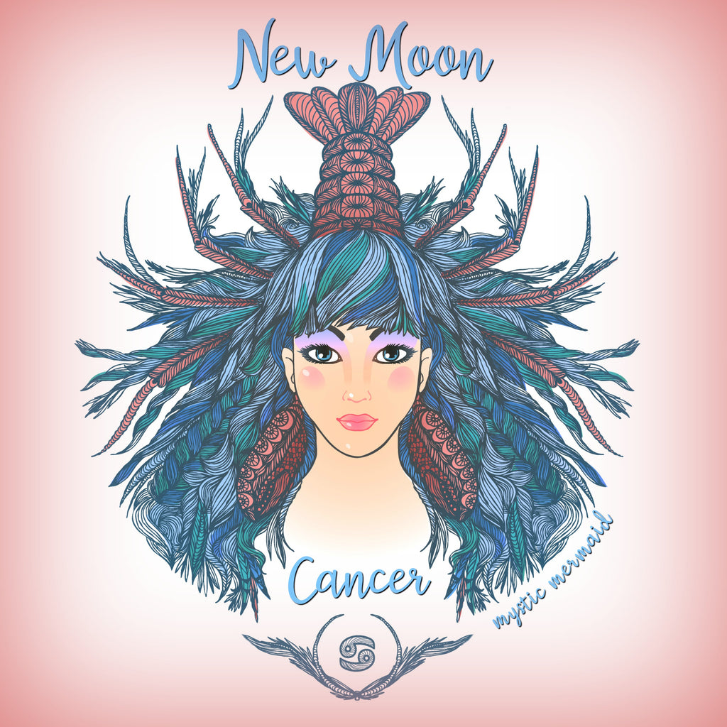 New Moon and Solar Eclipse in Cancer