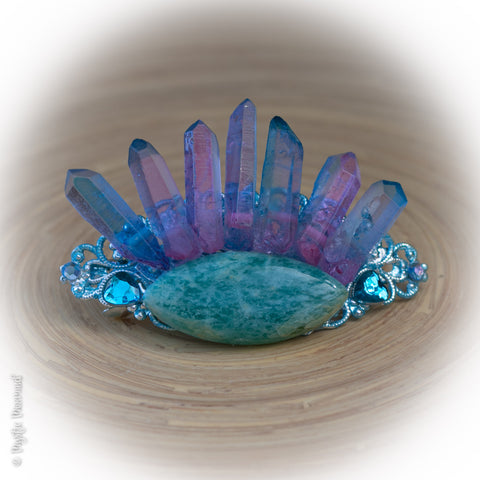 Mermaid's Eye Hair Barrette