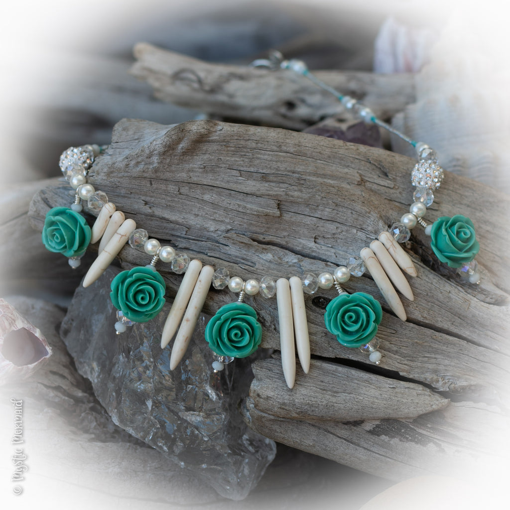 Spring Roses Necklace