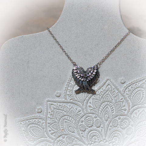 Brave Angel Necklace