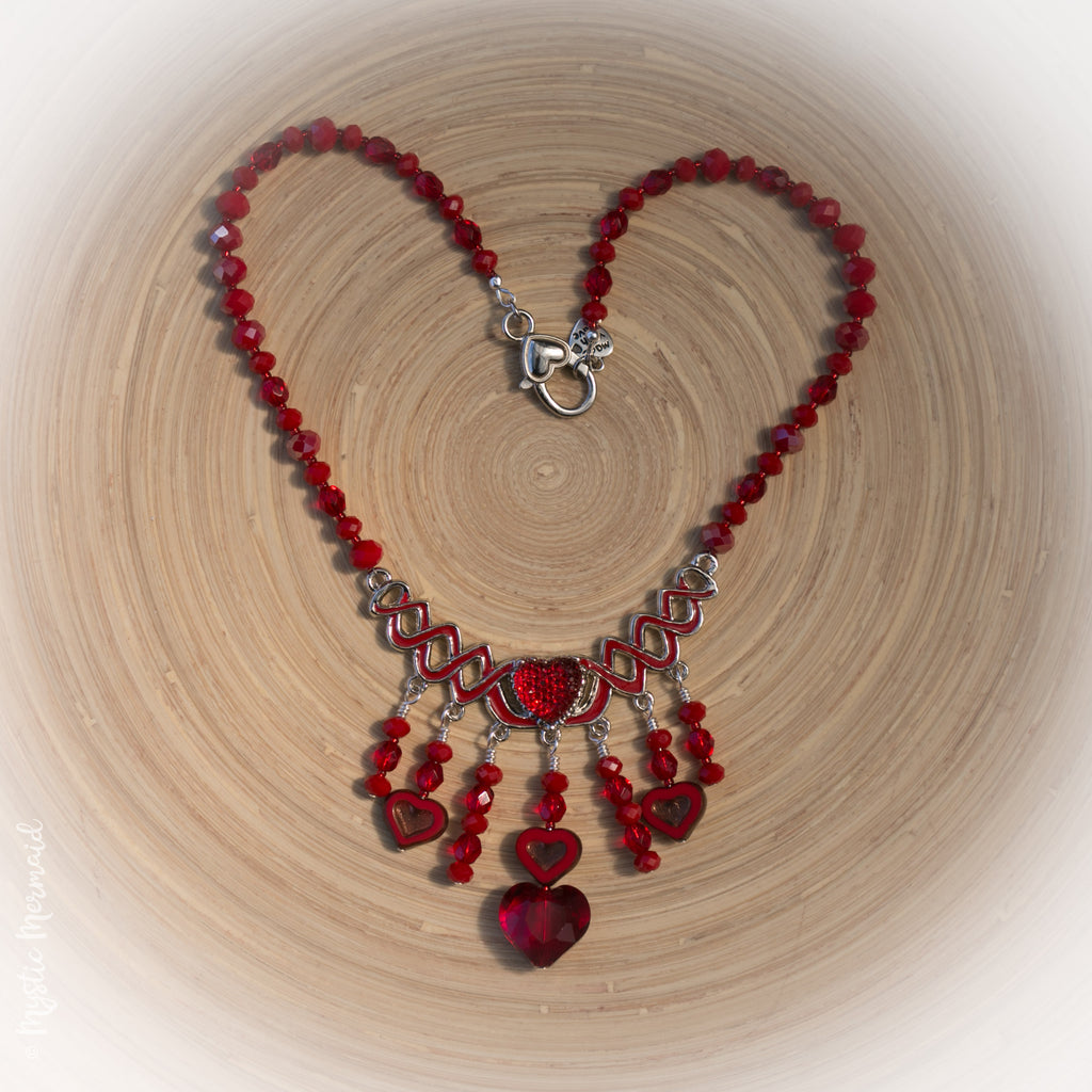 Diana – Queen of Hearts Necklace