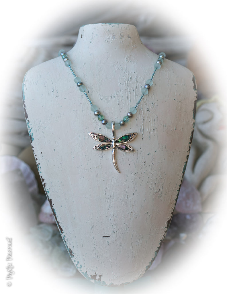 Dragonfly Bliss Necklace