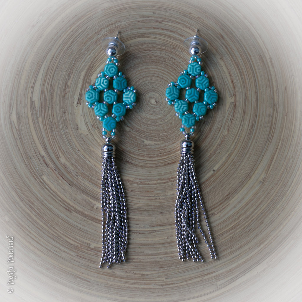 Mystic Mermaid Couture - Mermaid Isle Earrings