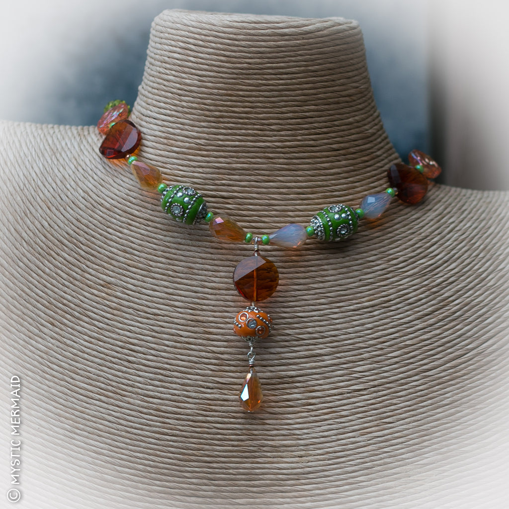 Autumn in the Vineyard Necklace