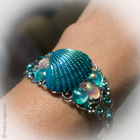 CUSTOM Treasures of the Deep Enchanted Ocean Cuff Bangle