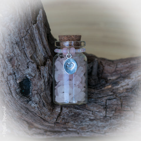 Rose Quartz Love Bottle