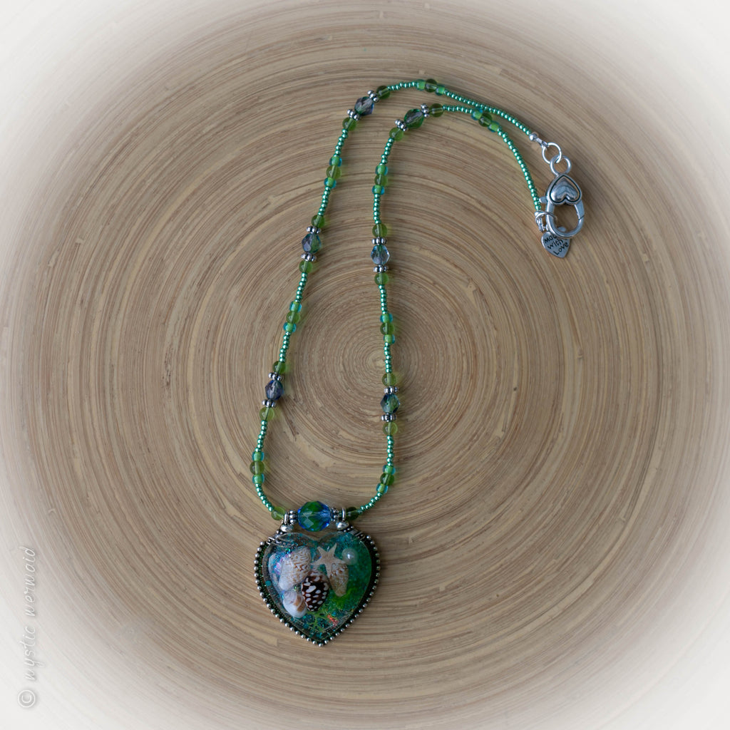 Ocean Hearted Necklace