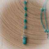 Amazing Amazonite Lariat necklace