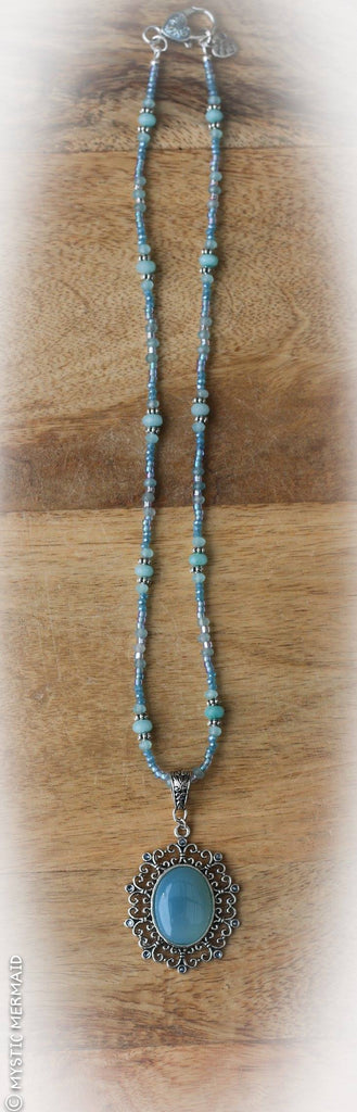 Blue Chalcedony Dreams Necklace