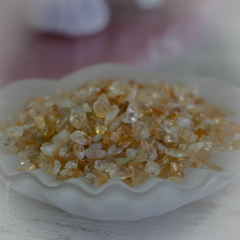 Citrine Guardian Angel - Prosperity and Health for 2020