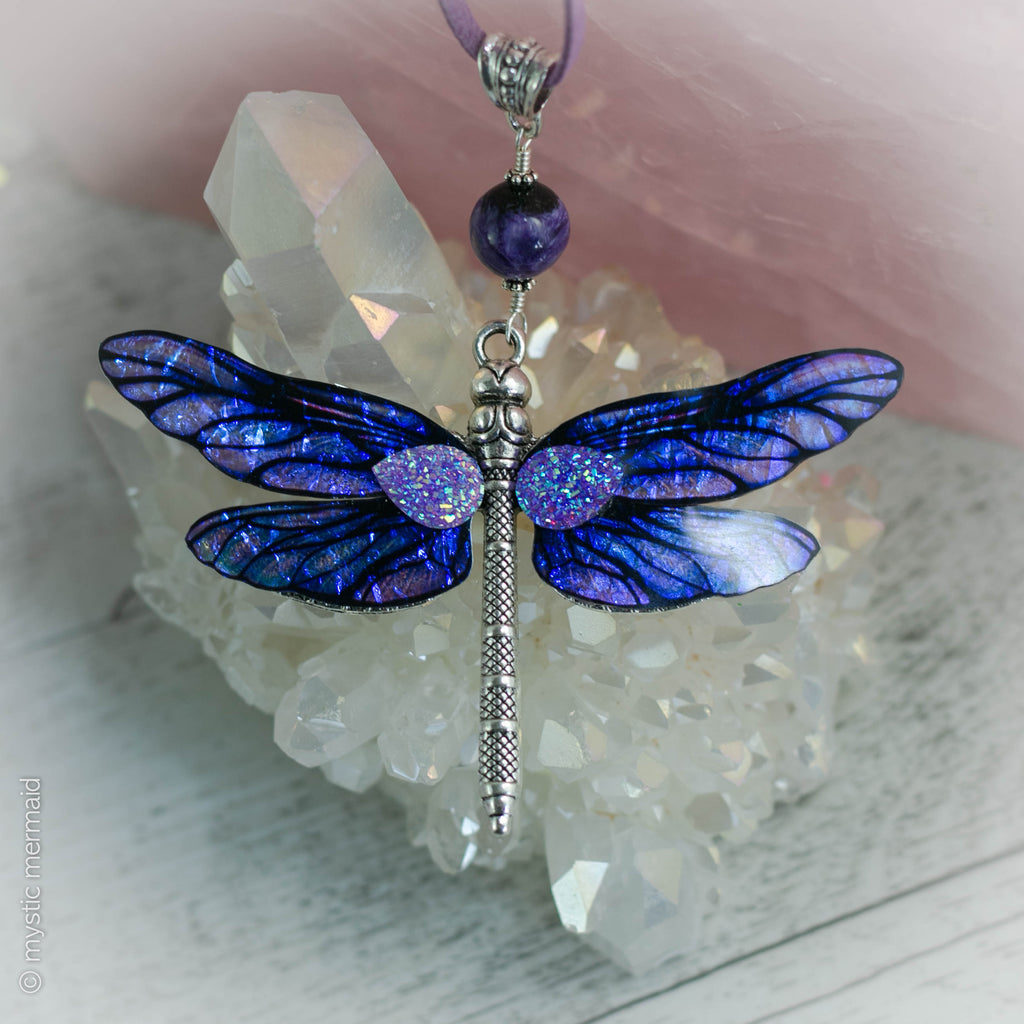 Dragonfly Dreaming - Charoite