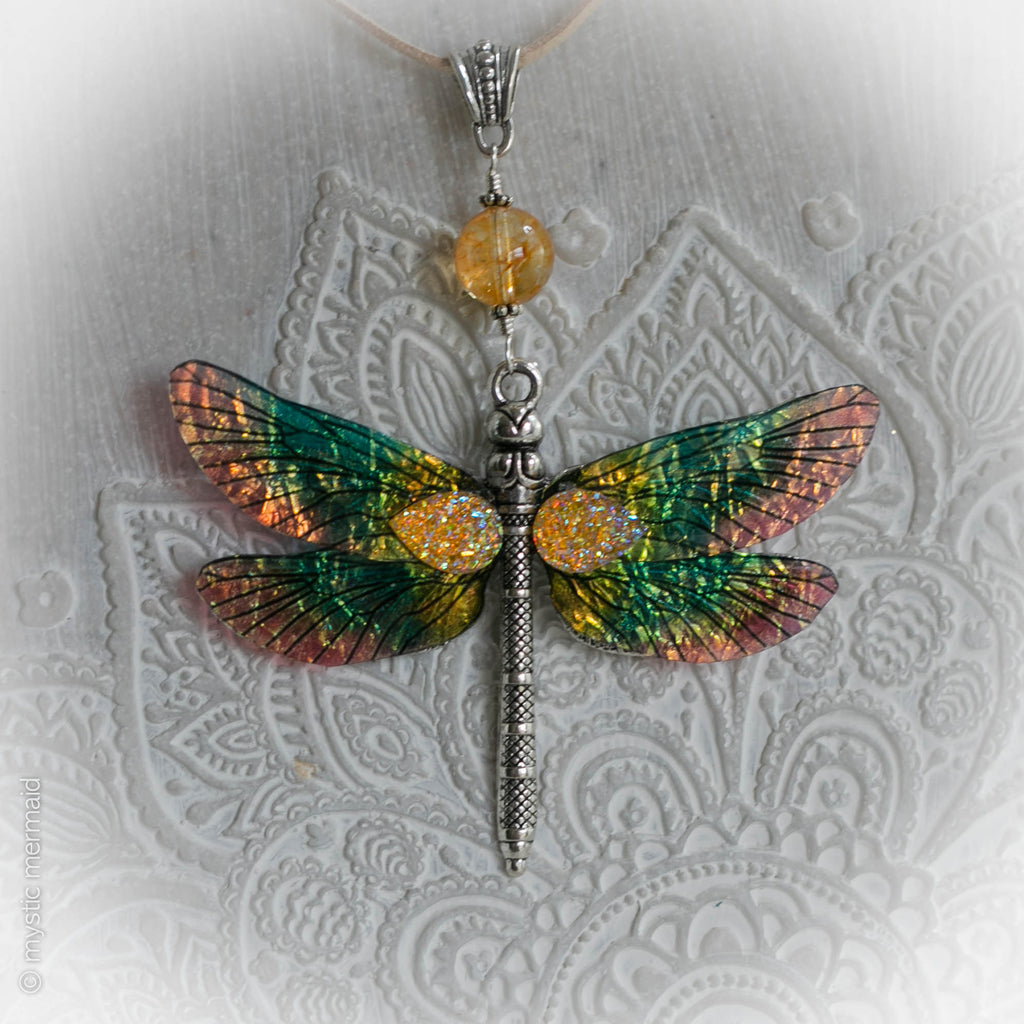 Dragonfly Dreaming - Citrine