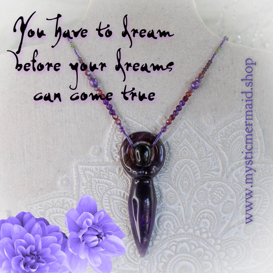 Ametrine and Amethyst - Dreams Come True - Goddess OOAK Necklace
