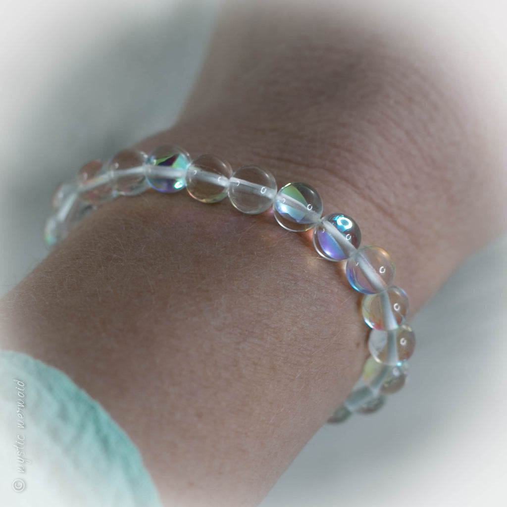 Mermaid Glow Stretch Bracelet