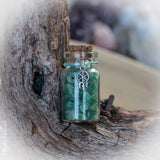 Green Aventurine Crystal Bottles