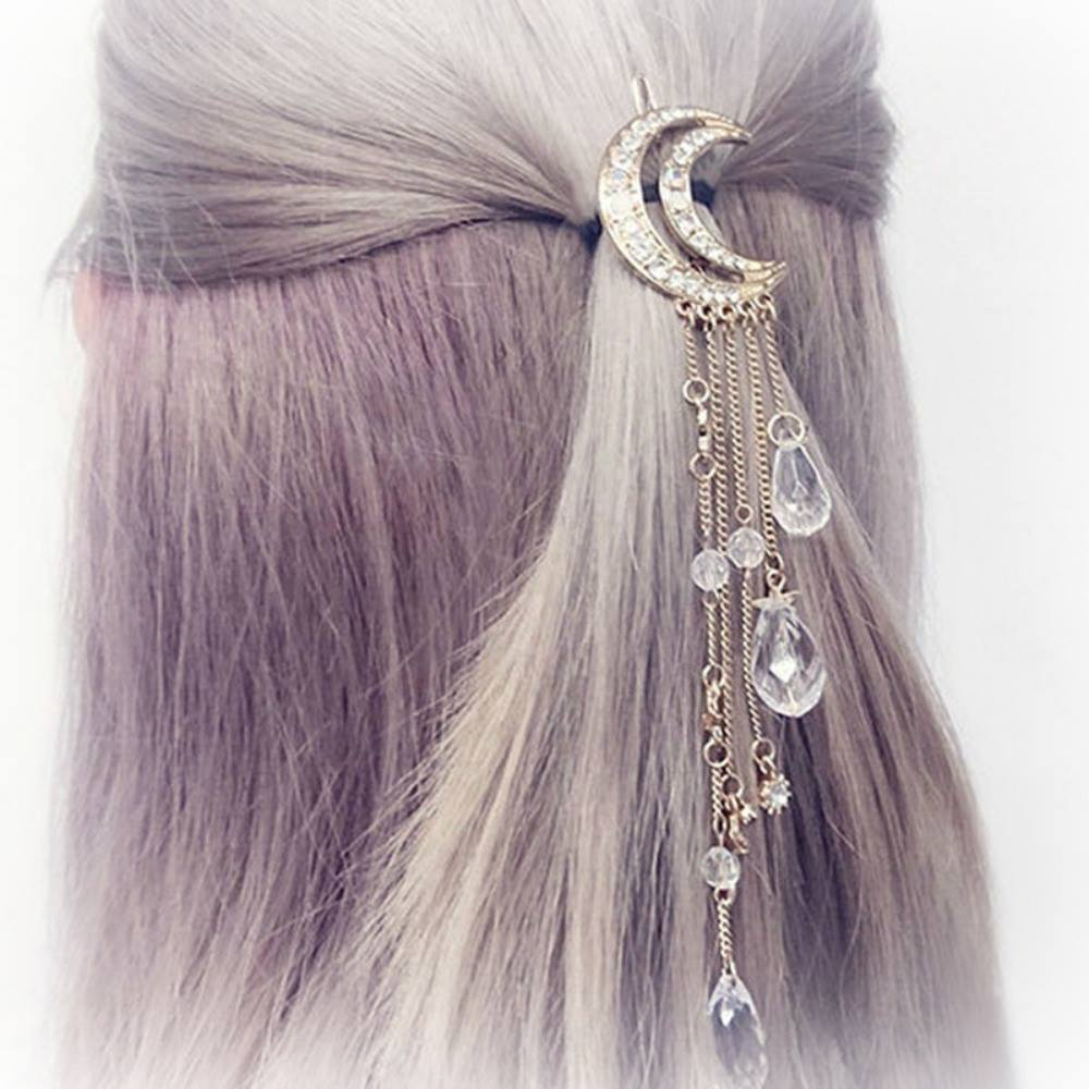 Sparkles to the Moon and Back Hair Clip