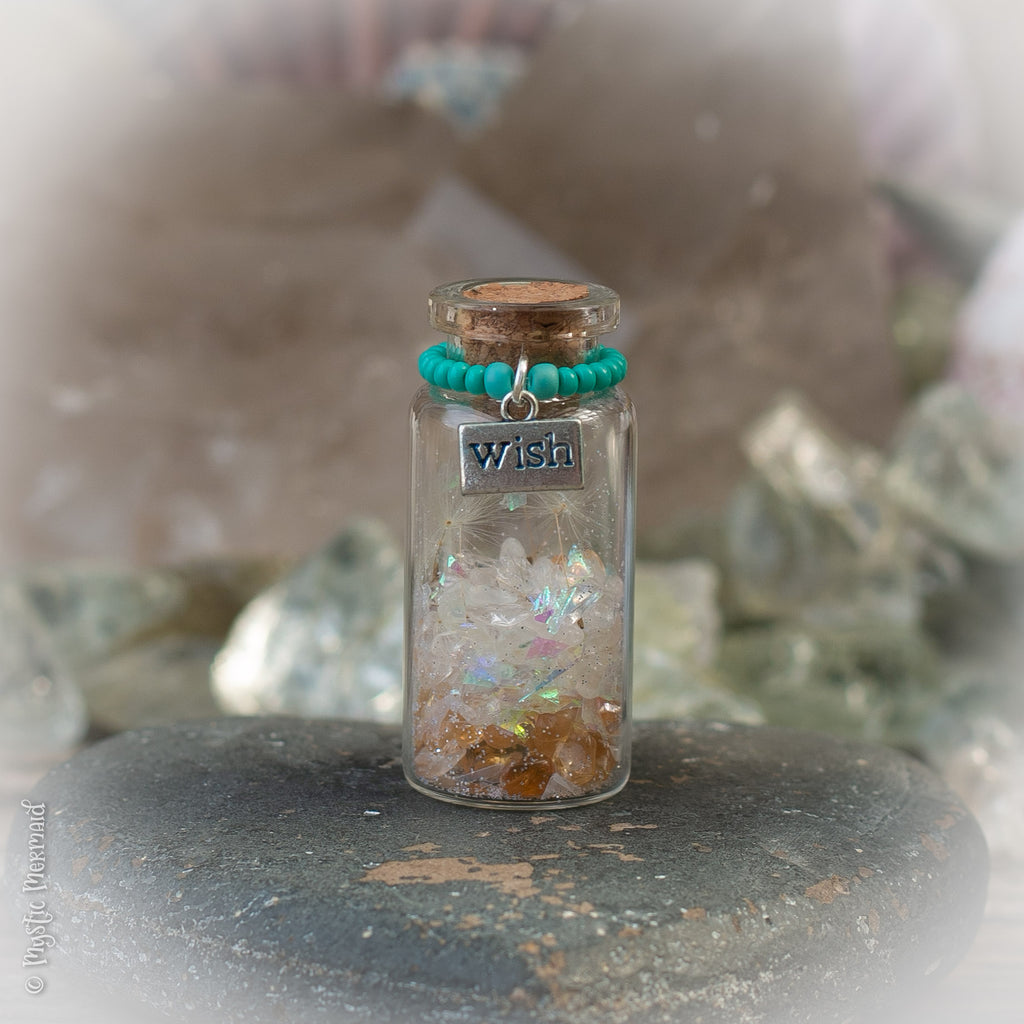 New Year Intention Wish Bottle