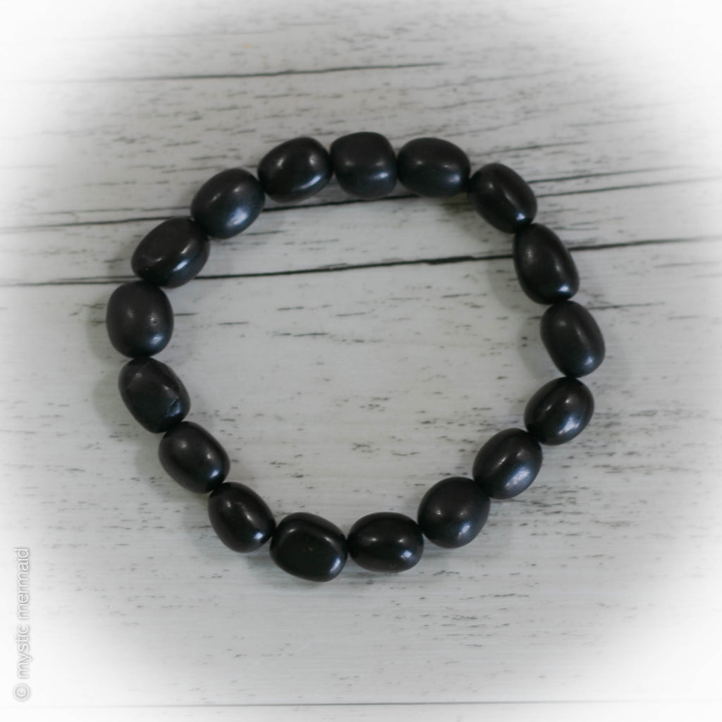 Shungite Pebble Stretch Bracelet