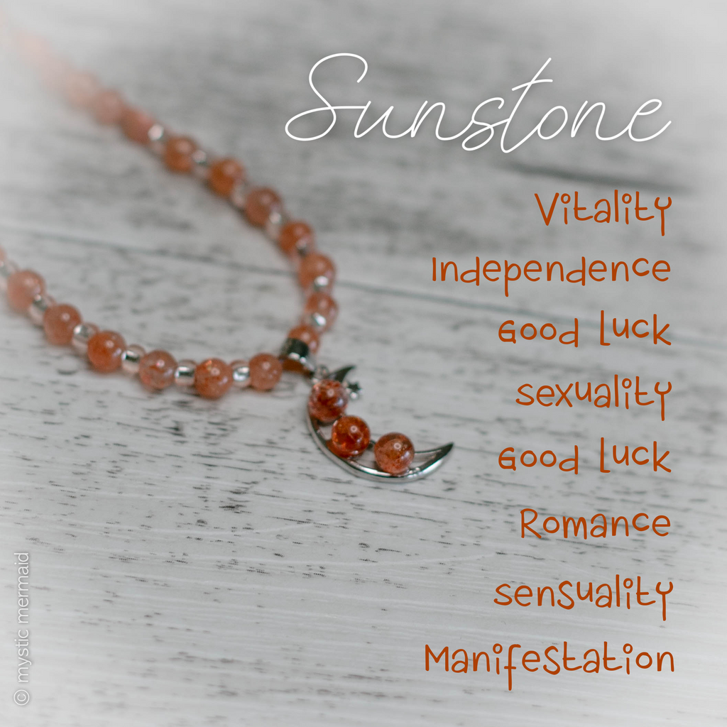 Sunstone Radiant Moon Necklace