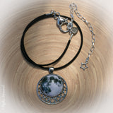 Swoon, Swoon, Full Moon amongst the Stars Necklace