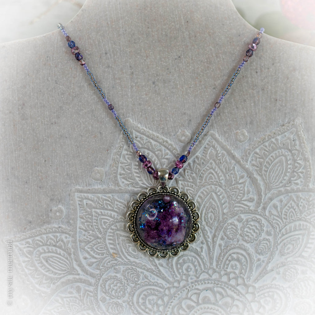 Purple Spirit Quartz Treasured Treat Necklace