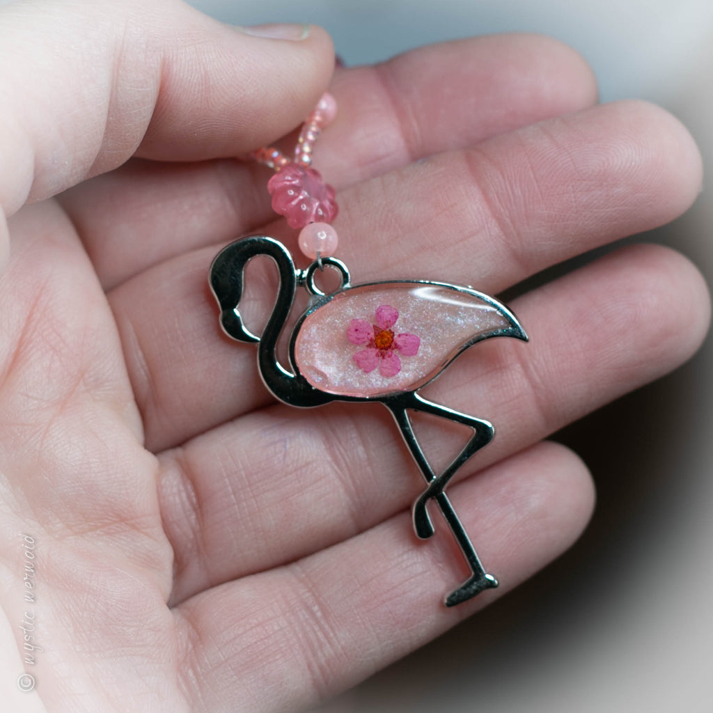 Free to Flamingle Necklace