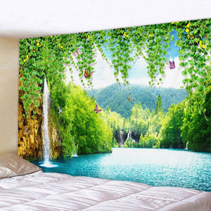 Heavenly Falls Tapestry
