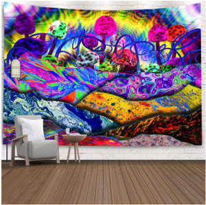 Bizarre Colors Tapestry
