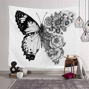Butterfly in Awestruck Beauty Tapestry