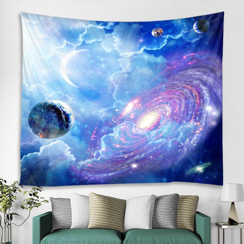 Far Far Away Galaxy Tapestry