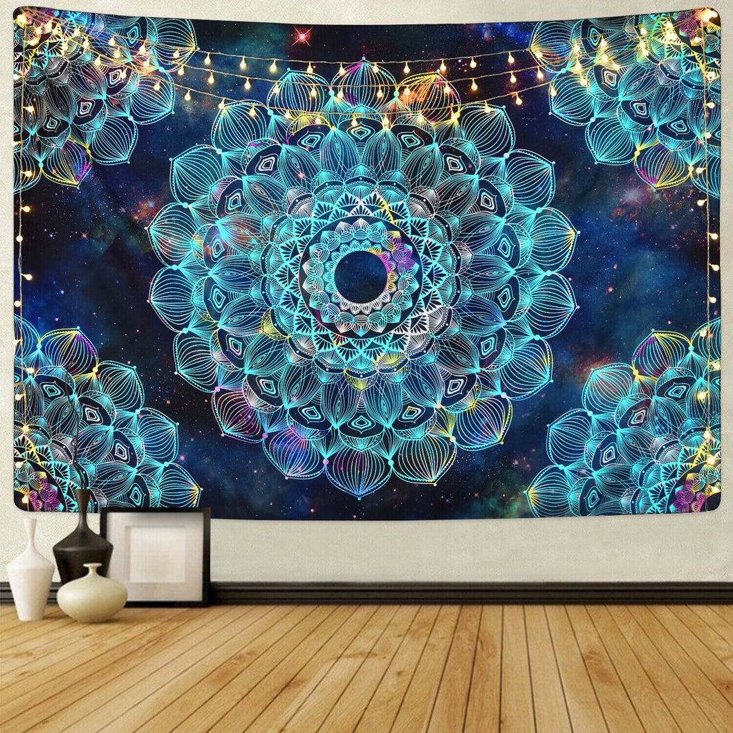 Glittered Chandelier Tapestry