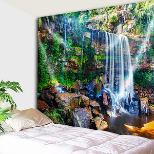 The Hidden Waterfalls Tapestry