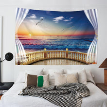Load image into Gallery viewer, Seaside Sunset Tapestry