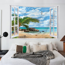 Load image into Gallery viewer, Ocean View Window Tapestry