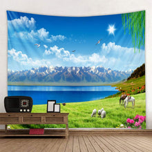 Load image into Gallery viewer, Meadow Mountains Tapestry