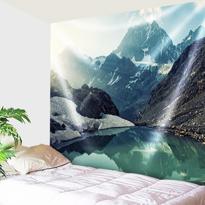 Mountains And Snow Tapestry