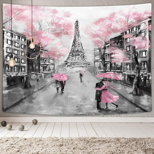 Oil Painting Paris Tapestry