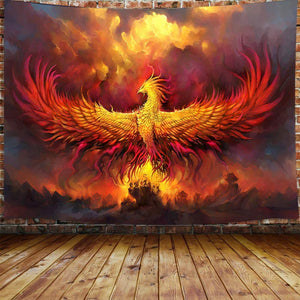 Rise of Phoenix Tapestry