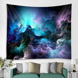 Electric Clouds Tapestry