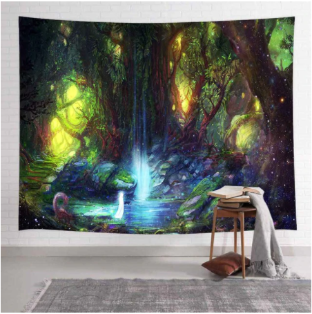 Secret Sanctuary Tapestry
