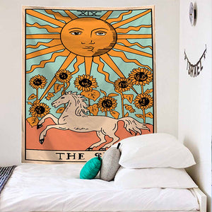The Sun and The Horse Tapestry