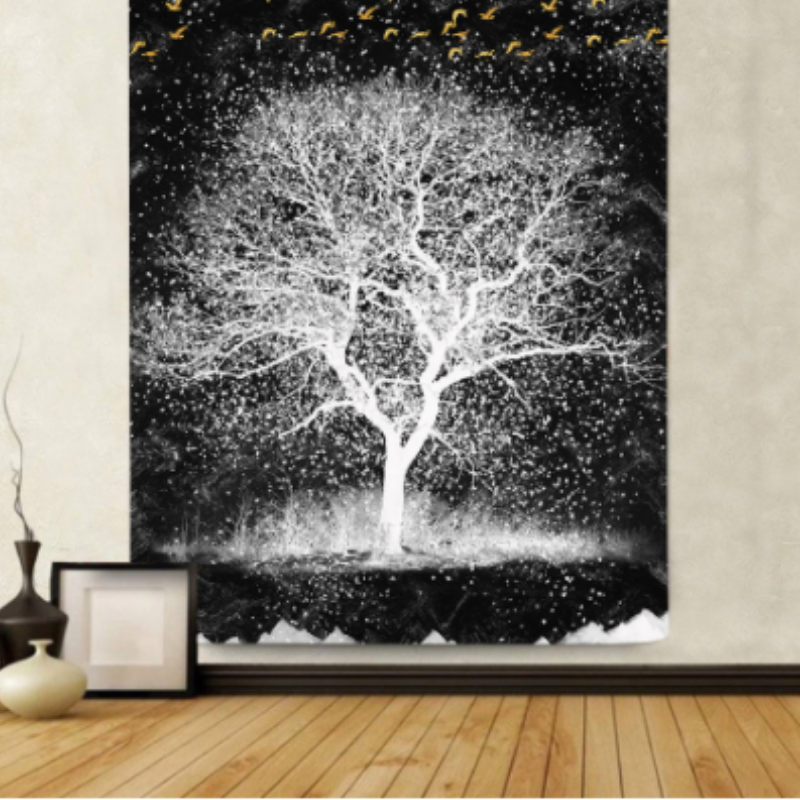Cold Branches Tapestry