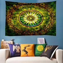 Load image into Gallery viewer, Mother Nature's Mandala Tapestry