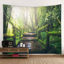 Load image into Gallery viewer, Natural Forest Tapestry