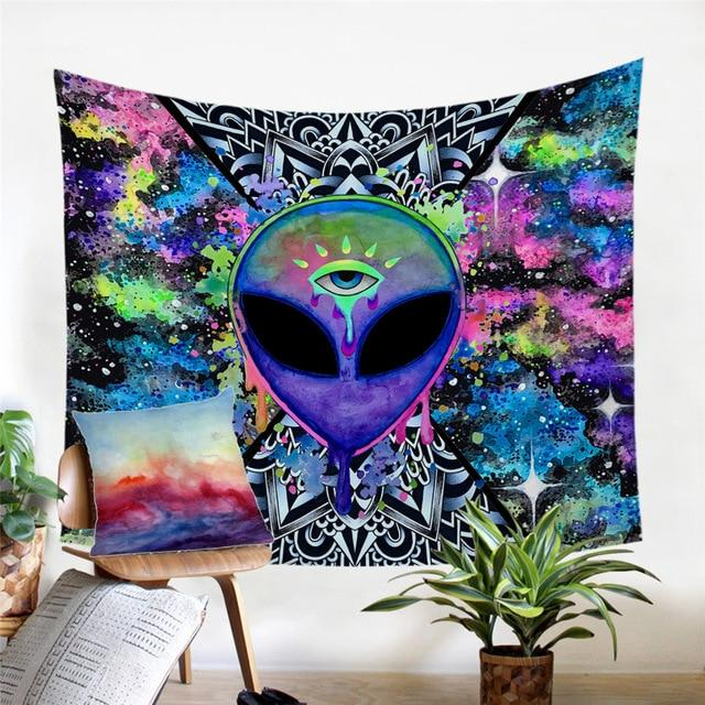 Psychedelic Alien Tapestry