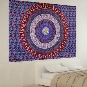 Pleasure Mandala Tapestry