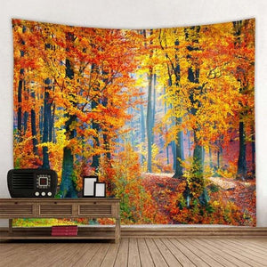 Autumn Is Here Tapestry