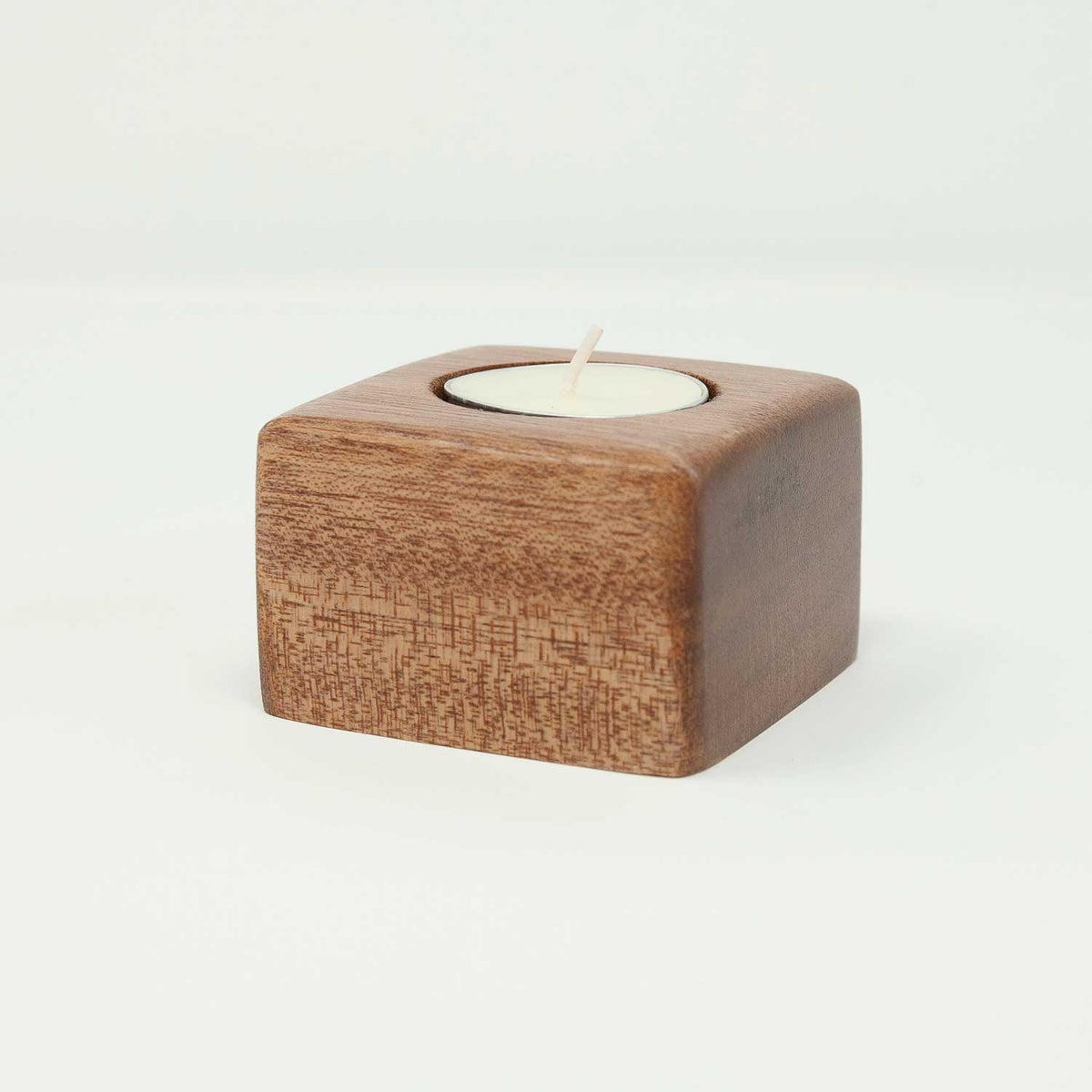 Tealight Candle Holder - Cube-shape