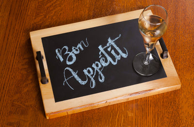 "Chalkboard Serving Tray - 11"" x 14"""